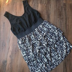 Mossimo scoop neck print tank dress